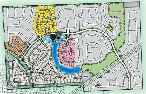 Meadows at Imperial Oaks Master Plan